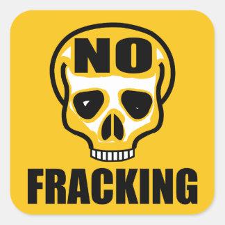 Ingen Fracking klistermärke