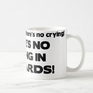 Ingen gråt - biljard vit mugg