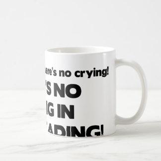Ingen gråt - Cheerleading Vit Mugg