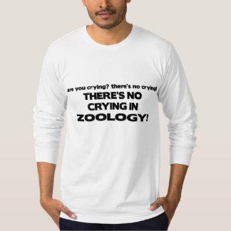 Ingen gråt i zoologi tröjor