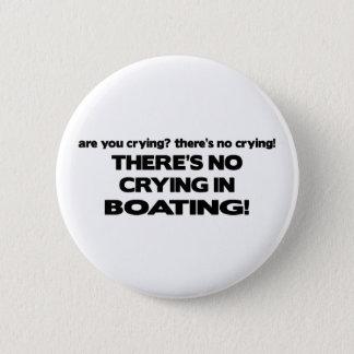 Ingen gråt - rodd standard knapp rund 5.7 cm