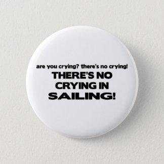 Ingen gråt - segling standard knapp rund 5.7 cm