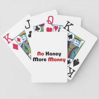 Ingen honung mer pengar spelkort