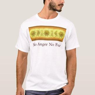 Ingen ilska ingen skräckskjorta tee shirt