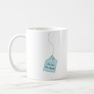 Ingen ingen tea skuggar tea- eller kaffemuggen kaffemugg
