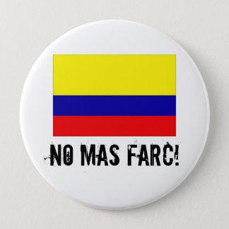 INGEN MAS FARC! knäppas Stor Knapp Rund 10.2 Cm