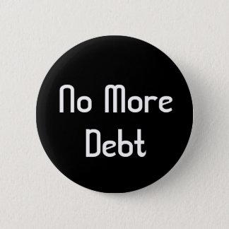 Ingen mer skuld standard knapp rund 5.7 cm