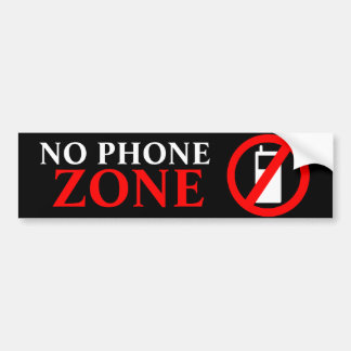 Ingen mobil zon bildekal