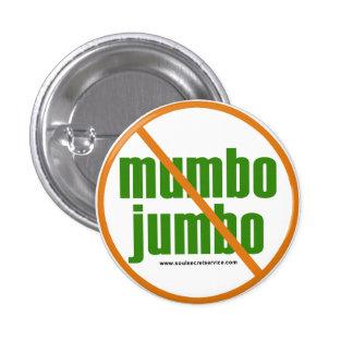 Ingen Mumbojumbo knäppas Mini Knapp Rund 3.2 Cm