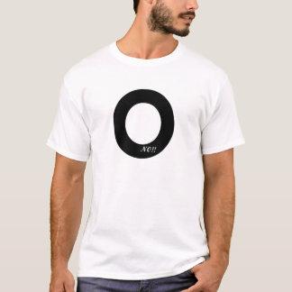 Ingen nolla t-shirts