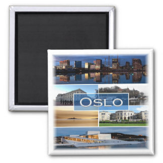 INGEN * norge - Oslo - mosaik Magnet