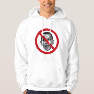 Ingen Obama Hooded tröja