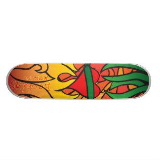 Ingen räddning mini skateboard bräda 18,7 cm