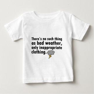 Ingen sådan sak som dåligt väder t-shirt