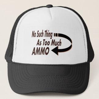 Ingen sådan sak som för mycket Ammo Truckerkeps