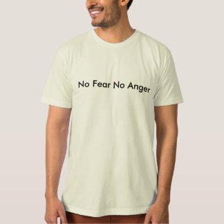 Ingen skräck ingen organisk ilska #1 t shirt