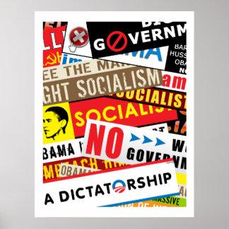 Ingen socialistisk propaganda poster