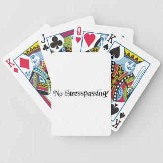 ingen stresspassing! spelkort
