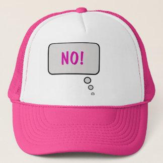 Ingen tänka bubblar hatten truckerkeps