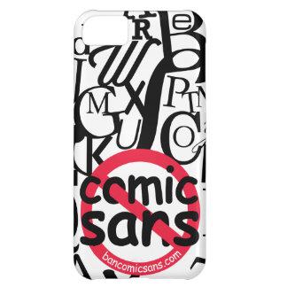 Ingen tecknad Sans typografi iPhone 5C Fodral