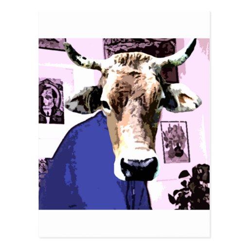 Ingen tjur vykort