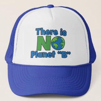 Ingen truckerkeps för planet B