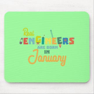 Ingenjörer är bördiga Januari Zn619 Musmattor