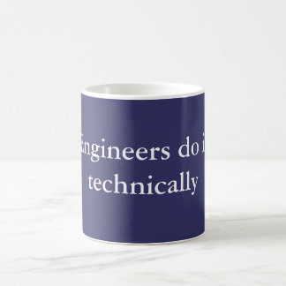 Ingenjörer gör det kaffemugg