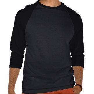 Inget begränsa 3 4 sleeveutslagsplats t shirt
