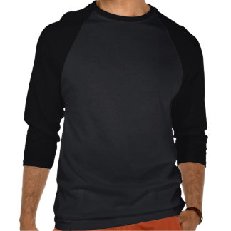 Inget begränsa 3/4 sleeveutslagsplats t shirt