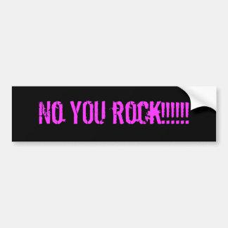 Inget DIG sten!!!!!! Bildekal