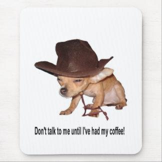 Inget kaffe musmatta