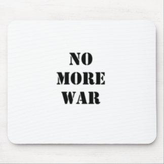 Inget mer krig stencilerar musmatta