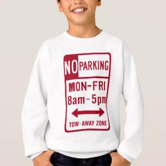 Inget parkera vägmärke för M-F 8-5 T-shirt