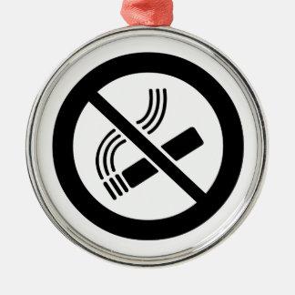 Inget - röka julgransprydnad metall