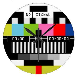 Inget signalera klocka