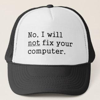 Inget ska jag ingen knipa din gåva för Tech för Truckerkeps