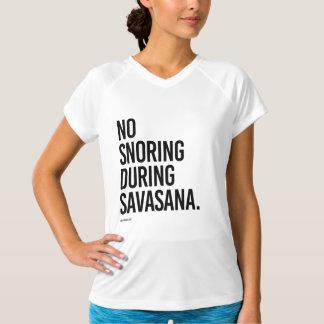 Inget snarka under Savasana - .png T Shirt