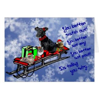 Inget truta! ~Holidays Hälsningskort