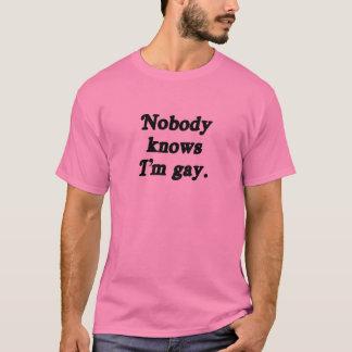 Inget vet I-förmiddagbög T-shirts
