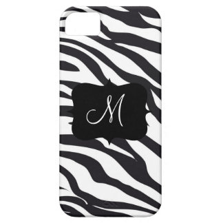 Initial zebra ränder för iPhone 5 Case-Mate cases