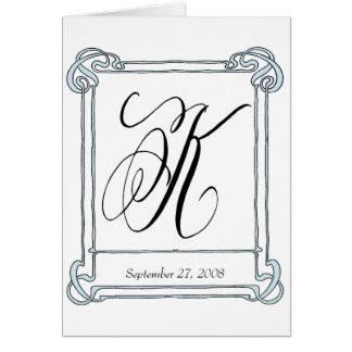 Initialt kort för K