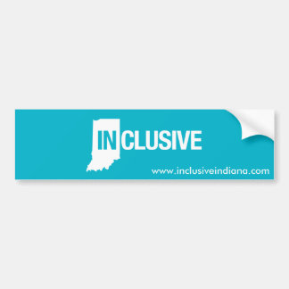 Inklusive Indiana bildekal