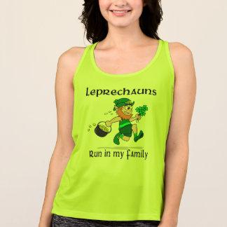 Inkörd leprechauns min familj - all sport t shirt