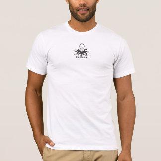 inktank ljus buldbläckfisk t shirts