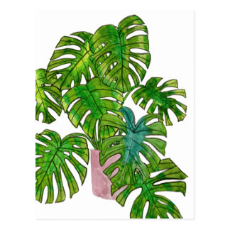 Inlagd djungel mig vykort