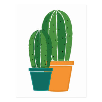 Inlagd kaktus vykort