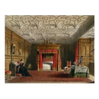 Inlagd kammare, Sizergh, Westmoreland, 1849 (w/c Vykort