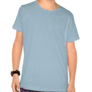 Innanmäte för ljusa bakgrunder tee shirts