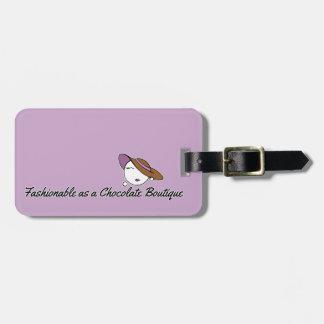 Innegrej som en chokladBoutique Bagageetiketter